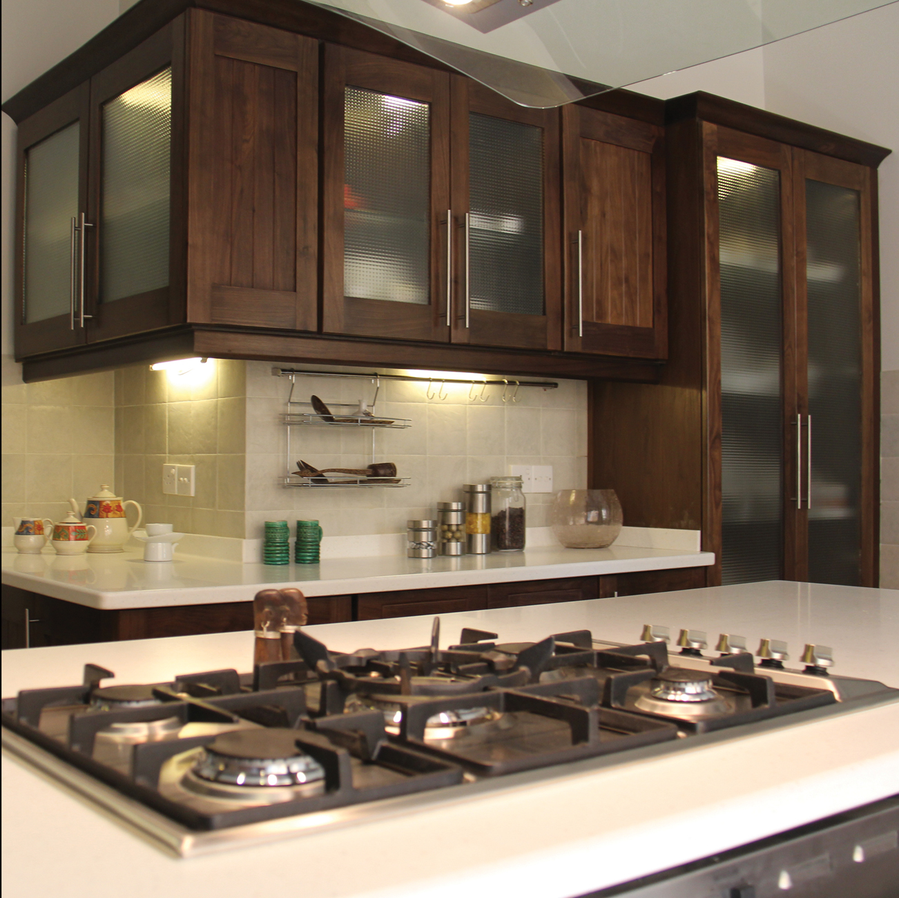 Domestic kitchens details kitchencare for Kitchen cabinets in pakistan
